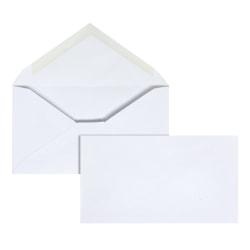 Office Depot® Brand #6 3/4 Envelopes, Gummed Seal, White, Box Of 500