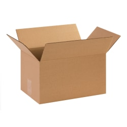 "Office Depot® Brand Corrugated Cartons, 14"" x 9"" x 8"", Kraft, Pack Of 25"