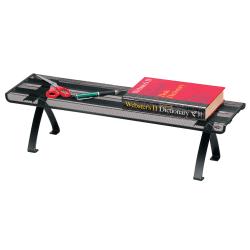 Brenton Studio® Black Mesh Off-Desk Shelf
