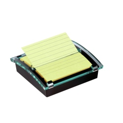 "Post-it® Notes Pop-Up Notes & Dispenser, 4"" x 4"", Clear"