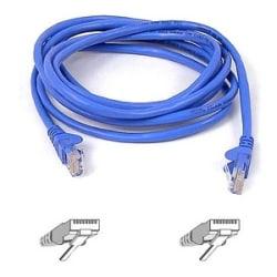 Belkin Cat5e UTP Patch Cable - RJ-45 Male - RJ-45 Male - 6ft - Blue
