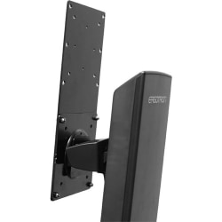 Ergotron Mounting Bracket for Flat Panel Display - Black - 29.10 lb Load Capacity
