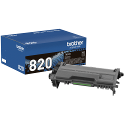 Brother® TN820 Black Toner Cartridge