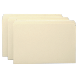 Smead® Manila File Folders, Legal Size, Straight Cut, Pack Of 100