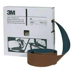 "3M™ 314D Utility Cloth Roll, P80 Grit, 2"" x 50 Yards"