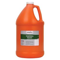 Handy Art Premium Tempera Paint Gallon - 1 gal - 1 Each - Orange