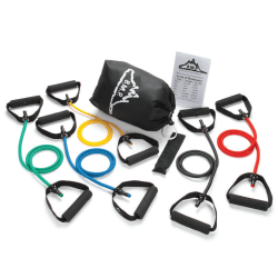 Black Mountain Products® Stackable Resistance Band Set, Assorted, 1 Set
