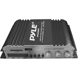Pyle PFA400U Car Amplifier - 100 W RMS - 2 Channel - Class T
