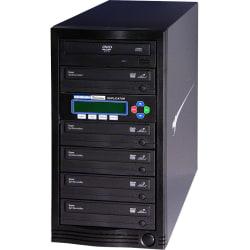 Kanguru 1-to-5, 24x DVD Duplicator - Standalone - DVD-ROM, DVD-Writer - 24x DVD R, 24x DVD-R, 12x DVD R, 12x DVD-R, 52x CD-R - 22x DVD R/RW, 22x DVD-R/RW - USB, TAA Compliant