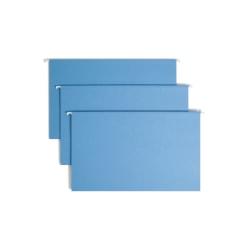 Smead® Hanging File Folders, Legal Size, Blue, Pack Of 25 Folders