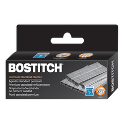 "Bostitch Premium Staples, 1/4"" Standard, Box Of 5,000"