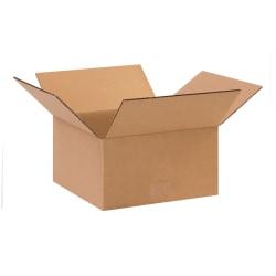 "Office Depot® Brand Corrugated Cartons, 10"" x 10"" x 5"", Kraft, Pack Of 25"