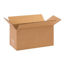 "Office Depot® Brand Corrugated Cartons, 10"" x 5"" x 5"", Kraft, Pack Of 25"