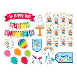 Schoolgirl Style Hello Sunshine Birthday Mini Bulletin Board Set