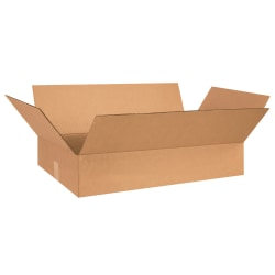 """Office Depot® Brand Corrugated Boxes, 5""""H x 17""""W x 26""""D, Kraft, Pack Of 25"""