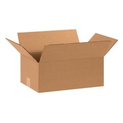"Office Depot® Brand Corrugated Cartons, 15"" x 10"" x 6"", Kraft, Pack Of 25"