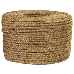 "Office Depot® Brand Manila Rope, 540 Lb, 1/4"" x 1,200', Manila"