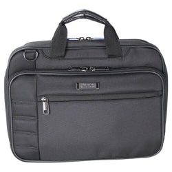 """Fujitsu Heritage Carrying Case for 14"""" Notebook - Dobby Polyester - Checkpoint Friendly - Shoulder Strap, Handle - 11.3"""" Height x 15.3"""" Width x 3.5"""" Depth"""