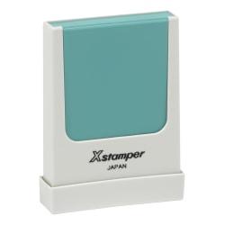 "Custom Xstamper® Pre-Inked Stamp, N37, 3/16"" x 1-9/16"" Impression"