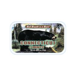 AmuseMints® Destination Mint Candy, CT Black Bear, 0.56 Oz, Pack Of 24
