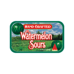 AmuseMints® Fruit Sours, Watermelon, 0.56 Oz, Pack Of 24