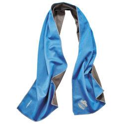 Ergodyne Chill-Its 6602MF Evaporative Microfiber Cooling Towel, Blue