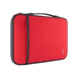 """Belkin Carrying Case (Sleeve) for 11"""" Netbook - Red - Wear Resistant - Neopro, Fleece Interior - Handle - 8"""" Height x 12.6"""" Width x 0.8"""" Depth"""