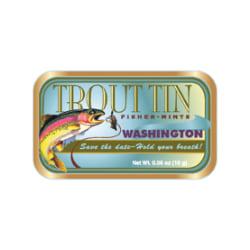 AmuseMints® Destination Mint Candy, Trout Washington, 0.56 Oz, Pack Of 24