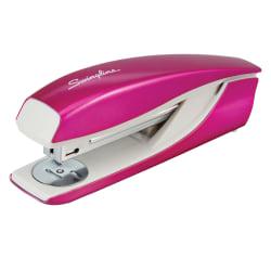 Swingline NeXXt Series WOW Desktop Stapler - 40 Sheets Capacity - Pink