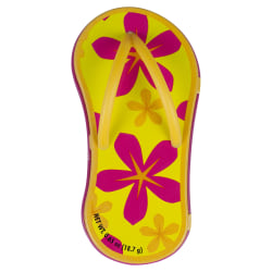 AmuseMints® Mint Candy Flip Flop Tins, Flower Orange, Pack Of 24