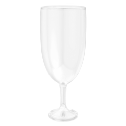 Amscan Round Plastic Pedestal Jar, 56 Oz, Clear