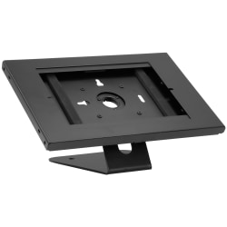 "Mount-It MI-3775B Anti-Theft Tablet Countertop Kiosk And Wall Mount, 9-7/16""H x 10-5/16""W x 4-13/16""D, Black"