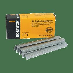 "Stanley Bostitch® B8 PowerCrown™ Premium Staples, 1/4"", Box Of 5000"