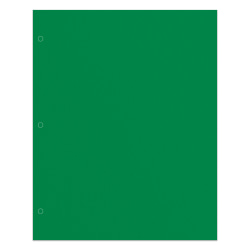 Office Depot® Brand 2-Pocket Paper Folder, Letter Size, Green