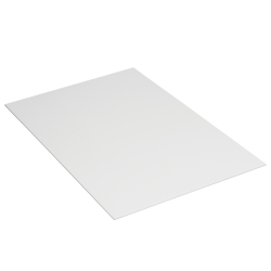 "Office Depot® Brand Plastic Corrugated Sheets, 48"" x 96"", White, Pack Of 10"