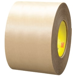 """3M™ 9485PC Adhesive Transfer Tape Hand Rolls, 3"""" Core, 4"""" x 60 Yd., Clear, Case Of 8"""
