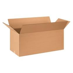 "Office Depot® Brand Corrugated Cartons, 28"" x 12"" x 12"", Kraft, Pack Of 20"