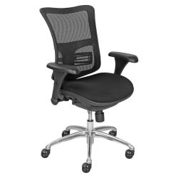 "La-Z-Boy® Mid-Back Task Chair, 41""H x 28""W x 20 14/16""D, Black"