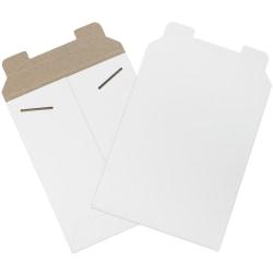"Office Depot® Brand White Flat Mailers, 7"" x 9"", Box Of 100"