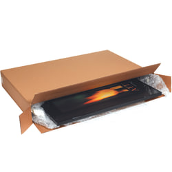 "Office Depot® Brand Side-Loading Boxes, 32""H x 10""W x 56""D, Kraft, Bundle Of 5"