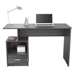 """Inval Multi-Level 48""""W Writing Desk, Tobacco Chic"""