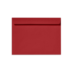 "LUX Booklet Envelopes With Moisture Closure, 6"" x 9"", Ruby Red, Pack Of 500"