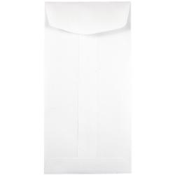 """JAM Paper® Open-End Coin Envelopes, #7, 3-1/2"""" x 6-1/2"""", White, Pack Of 250 Envelopes"""
