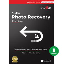 Stellar Photo Recovery Premium, For Windows®