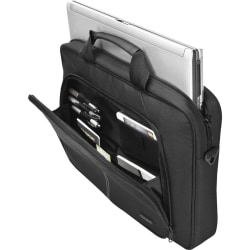 """Targus Intellect Sleeve with Strap - Notebook carrying case - 15.6"""" - black"""