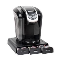 Mind Reader Coffee Pod Drawer For 36 K-Cup® Pods, Black