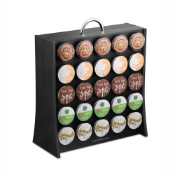 Mind Reader Coffee Pod Display Rack For 50 K-Cup® Pods, Black