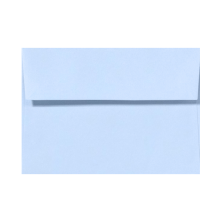 "LUX Invitation Envelopes With Peel & Press Closure, A2, 4 3/8"" x 5 3/4"", Baby Blue, Pack Of 1,000"