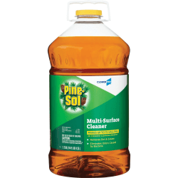 Pine-Sol Multi-Surface Cleaner - Liquid - 1.13 gal (144 fl oz) - Pine Scent - 126 / Pallet - Clear
