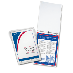 """ComplyRight™ Federal/State Remote Worksite Labor Law Binder With 1-Year Replacement Service, Spanish, Virginia, 11"""" x 17"""""""